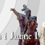 9 d'Octubre con Jaume I y sus caballeros