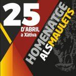Xàtiva conmemora los 40 años de la Piedra de los Maulets