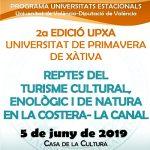 Segunda edición de la Universidad de primavera en Xàtiva