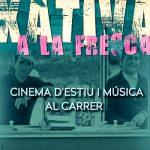 Xàtiva a la Fresca lleva el cine y la música a diferentes espacios de la ciudad